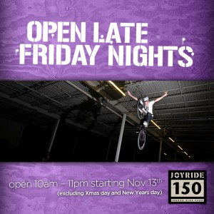 Open late Fridays